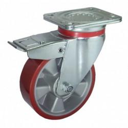 Ruedas industriales carga alta 230-1200 Kgs R.RE8451254 Z AL/POL BO F