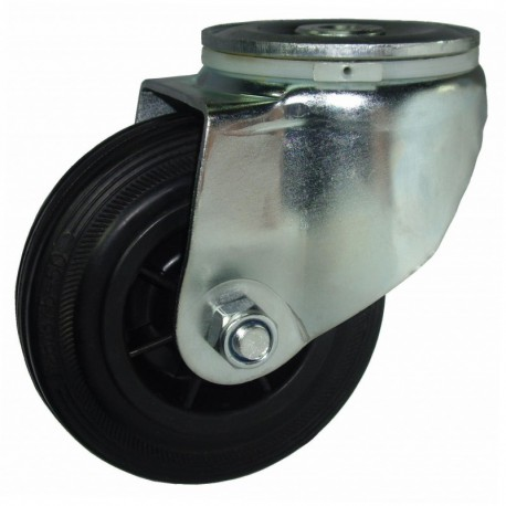 Ruedas industriales carga estándar 125-1200 Kg R.S8181251 Z GN LI