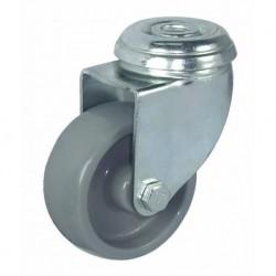 Ruedas semi-industriales carga 40-135 Kg R.7111001 Z PG C.125