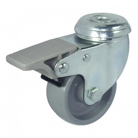 Ruedas semi-industriales carga 40-135 Kg R.7111001 Z PG C.125 F