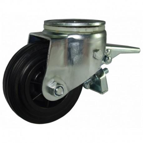 Ruedas industriales carga estándar 125-1200 Kg R.S8232001 Z NYL/GN LI F