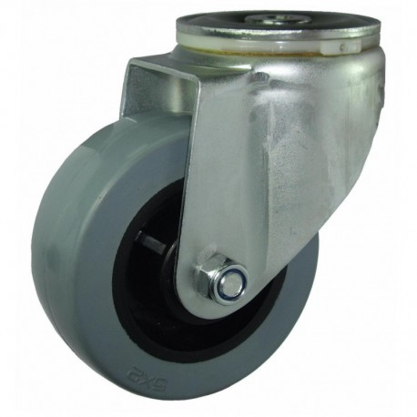 Ruedas industriales carga estándar 125-1200 Kg R.S8231601 Z NYL/GG LI