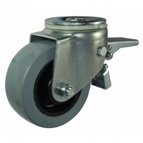 Ruedas industriales carga estándar 125-1200 Kg R.S8231251 Z NYL/GG LI F