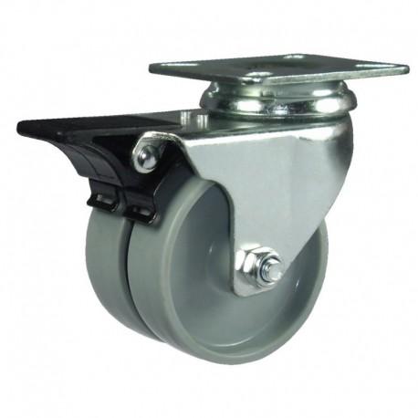 Ruedas semi-industriales carga 40-135 Kg 17451