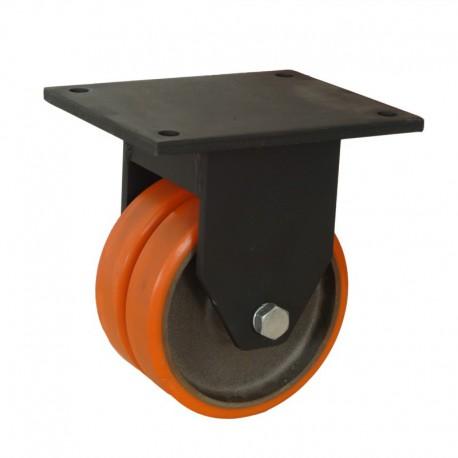 Ruedas industriales soporte extra fuerte 500-7000 Kgs R.MS8643009 PN FE/POL BO
