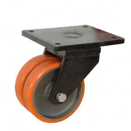Ruedas industriales soporte extra fuerte 500-7000 Kgs R.MS8664004 PN FE/POL 2 BO