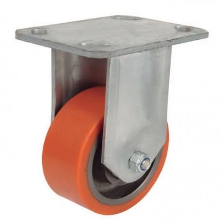 Ruedas industriales soporte extra fuerte 500-7000 Kgs R.ER8502009 PG FE/POL BO